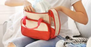 Faciatoio portatile per neonati
