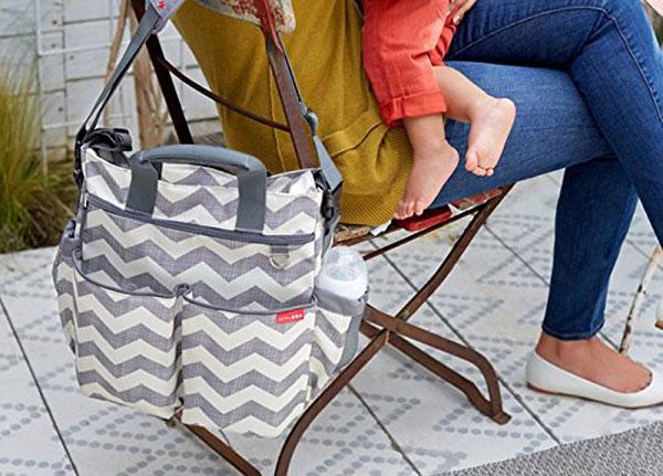 Fasciatoio a borsa per neonati