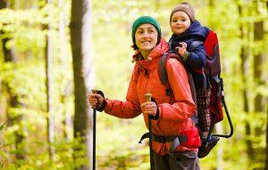Zaino porta bimbi da trekking