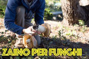zaino per funghi